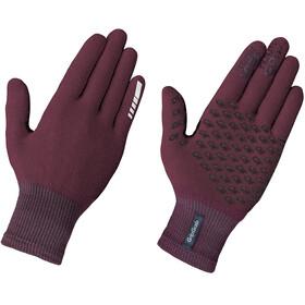 GripGrab Primavera II Merino Handschoenen, dark red